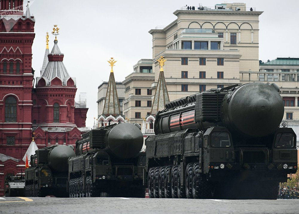 Victory Day Military Parade In Russia's Moscow (Full Video)