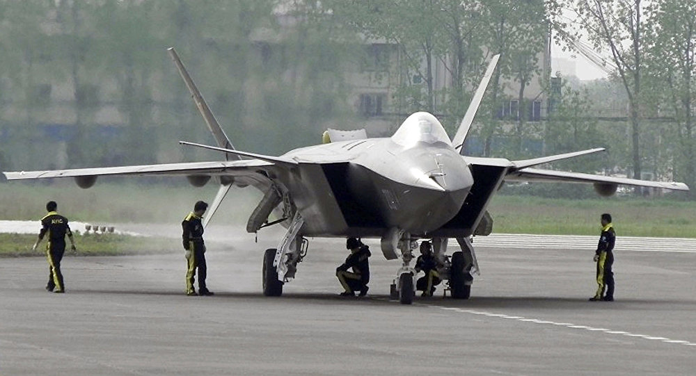 China's J-20 Fifth-Gen Fighters Carried Out First Sea Training Mission
