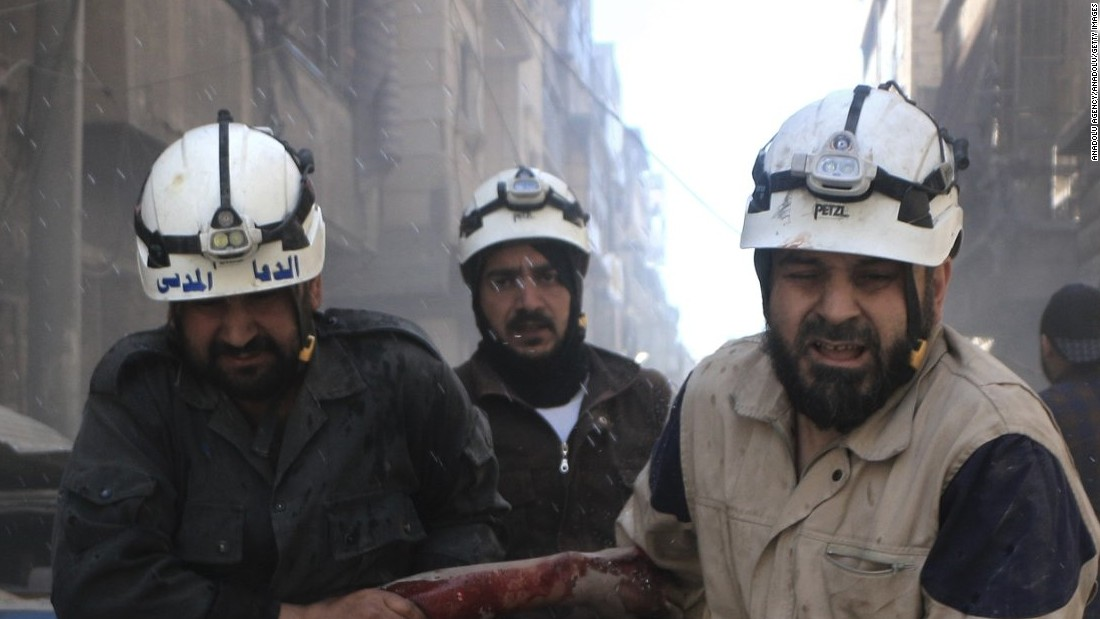 US Resumes Financial Aid To White Helmets