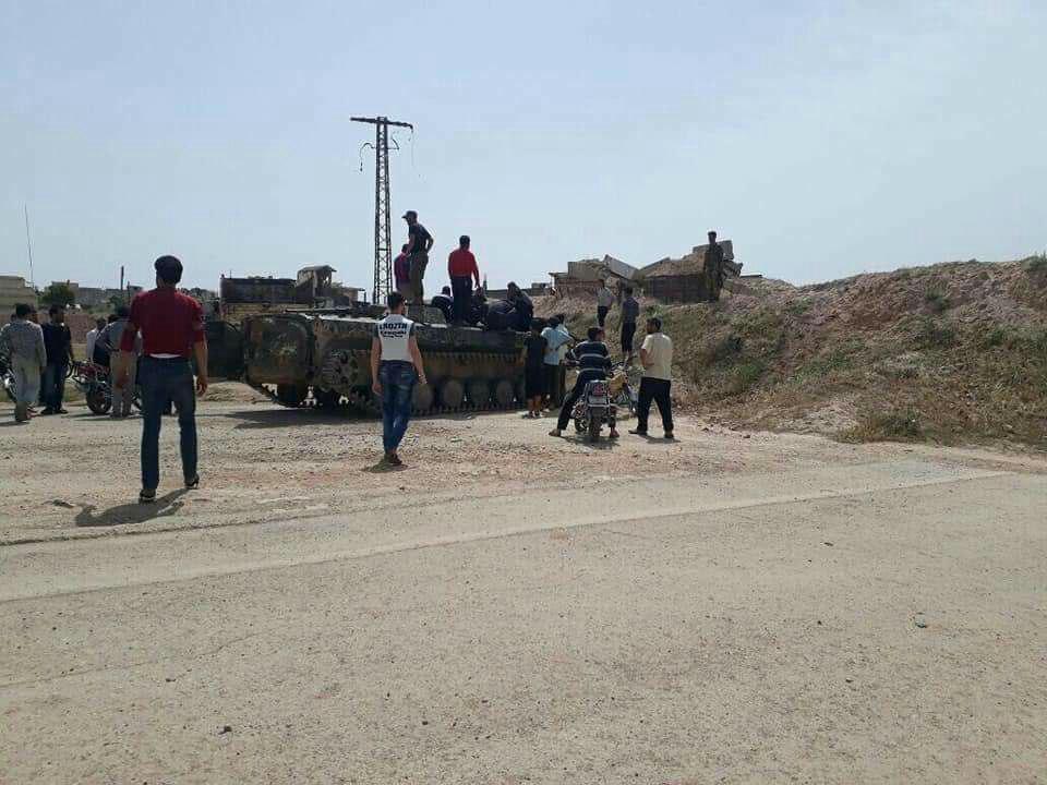 Militants In Northern Homs Open Hama Highway, Hand Over Heavy Weapons (Video, Photos)