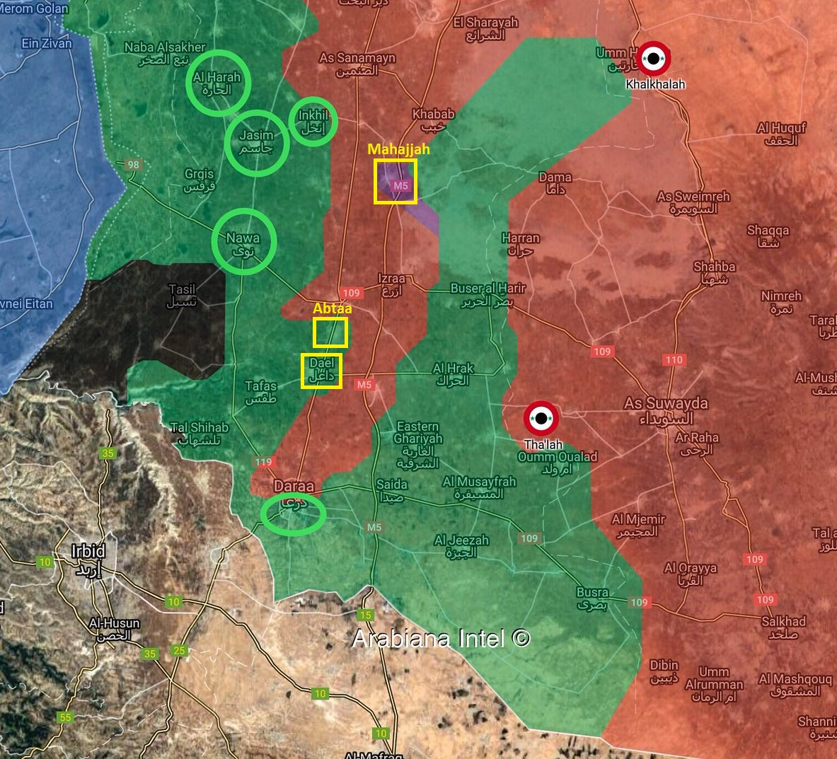 Russia And Syrian Army Send Final Warning To Militants In Several Key Towns In Daraa (Map)
