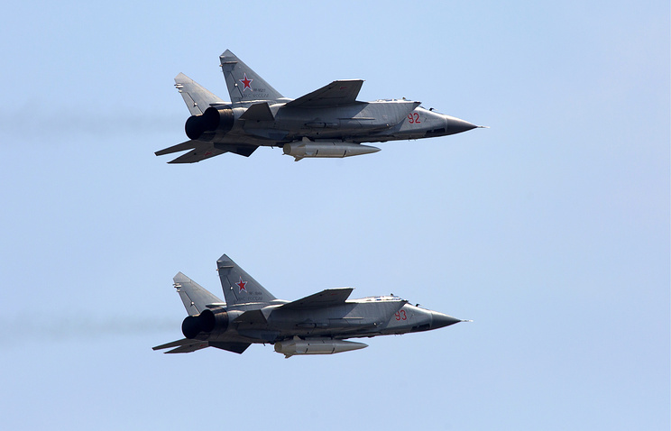 Russian MiG-31 Jets Armed With Kinzhal Hypersonic Missiles Will Take Part In Victory Day Parade (Photos)