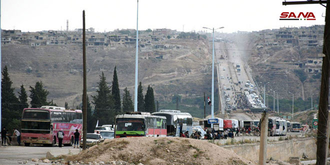 Evacuation Of Militants From Northern Homs Resumed (Photos)