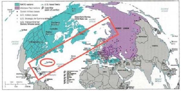 US Navy Resurrects Its Cold War-Era Atlantic Fleet To Counter Russia