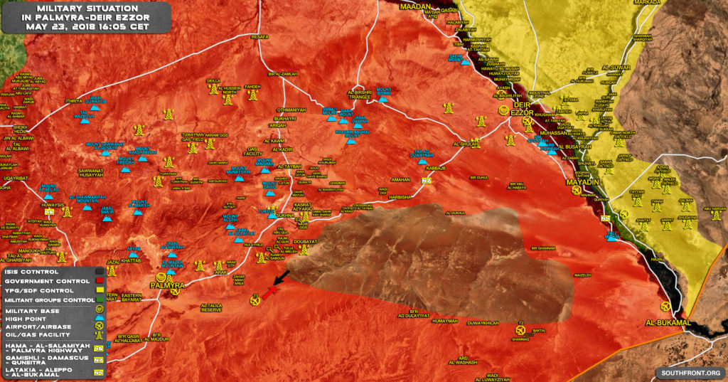 Syrian Army Repels ISIS Attack In Deir Ezzor Province (Map)