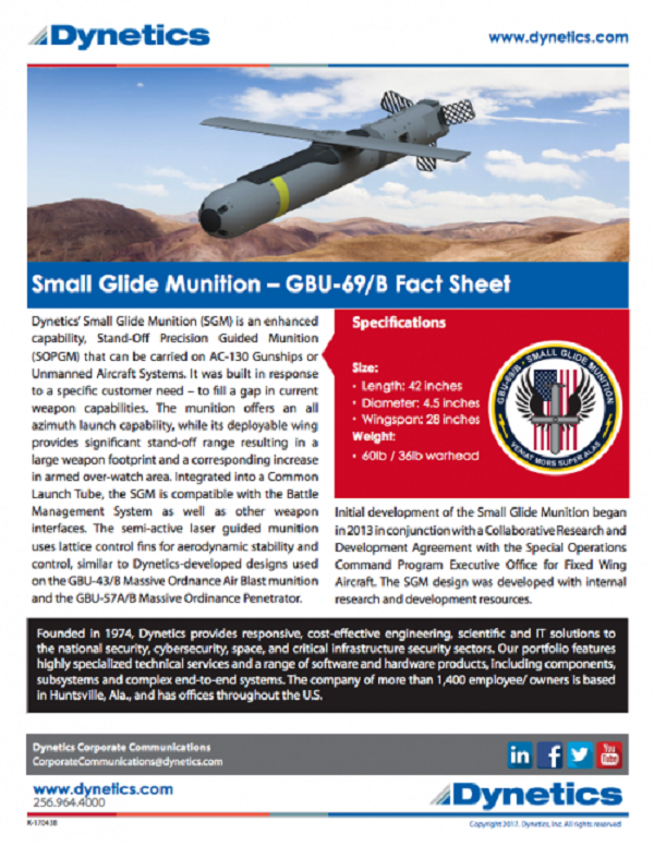 US Special Ops Getting 1000s Of Small Glide Munitions That Pack A Bigger Punch Than Hellfires