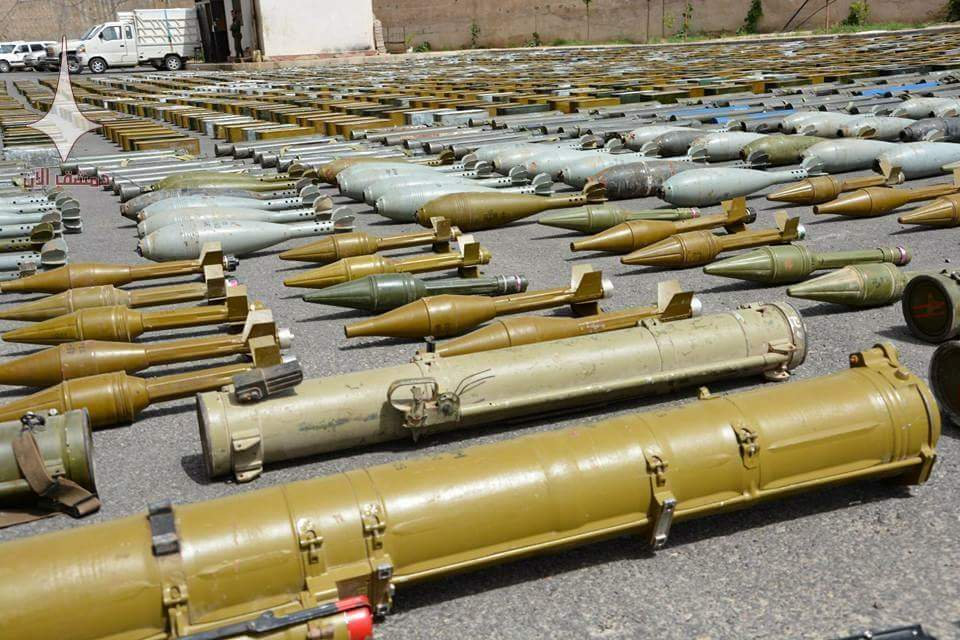 Syrian Military Intelligence Sizes Weapons And Israeli Medicine Shipment Heading To Northern Homs (Photos)