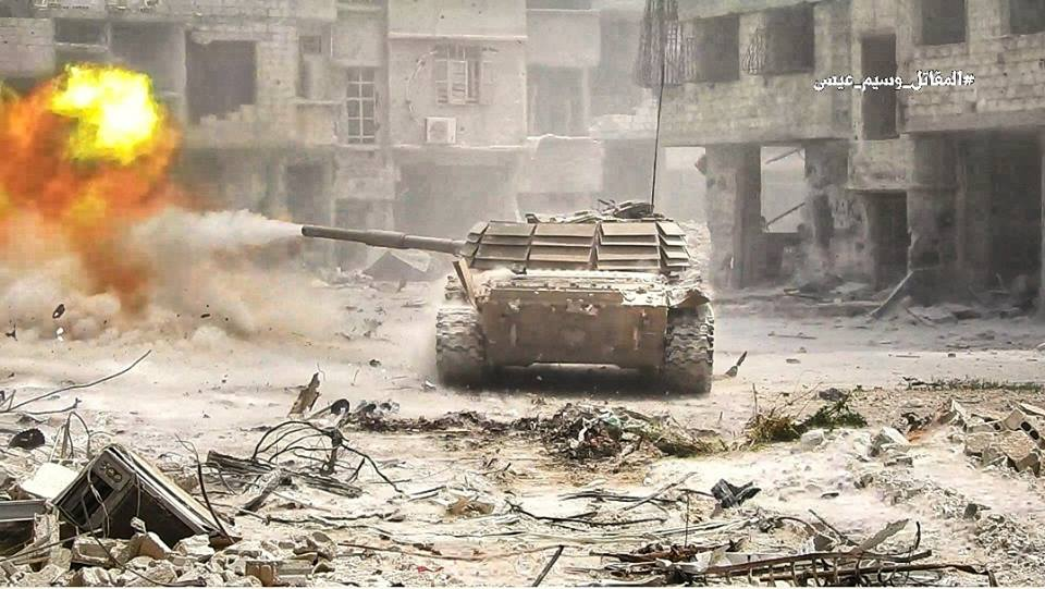 Syrian Forces Conduct Series Of Airstrikes On ISIS Positions In Southern Damascus