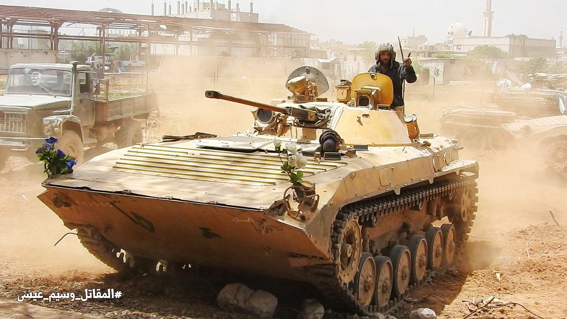Southern Damascus: Syrian Army Liberates More Area, ISIS Launches Counter-Attack