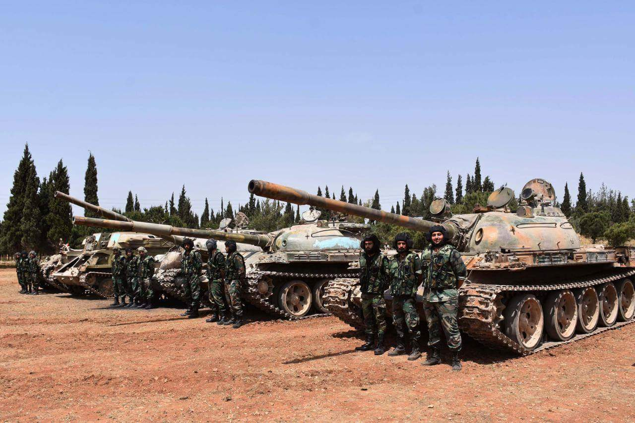 North Homs Militants Hand Over Anti-Aircraft And Anti-Tank Missiles To Syrian Army (Photos)