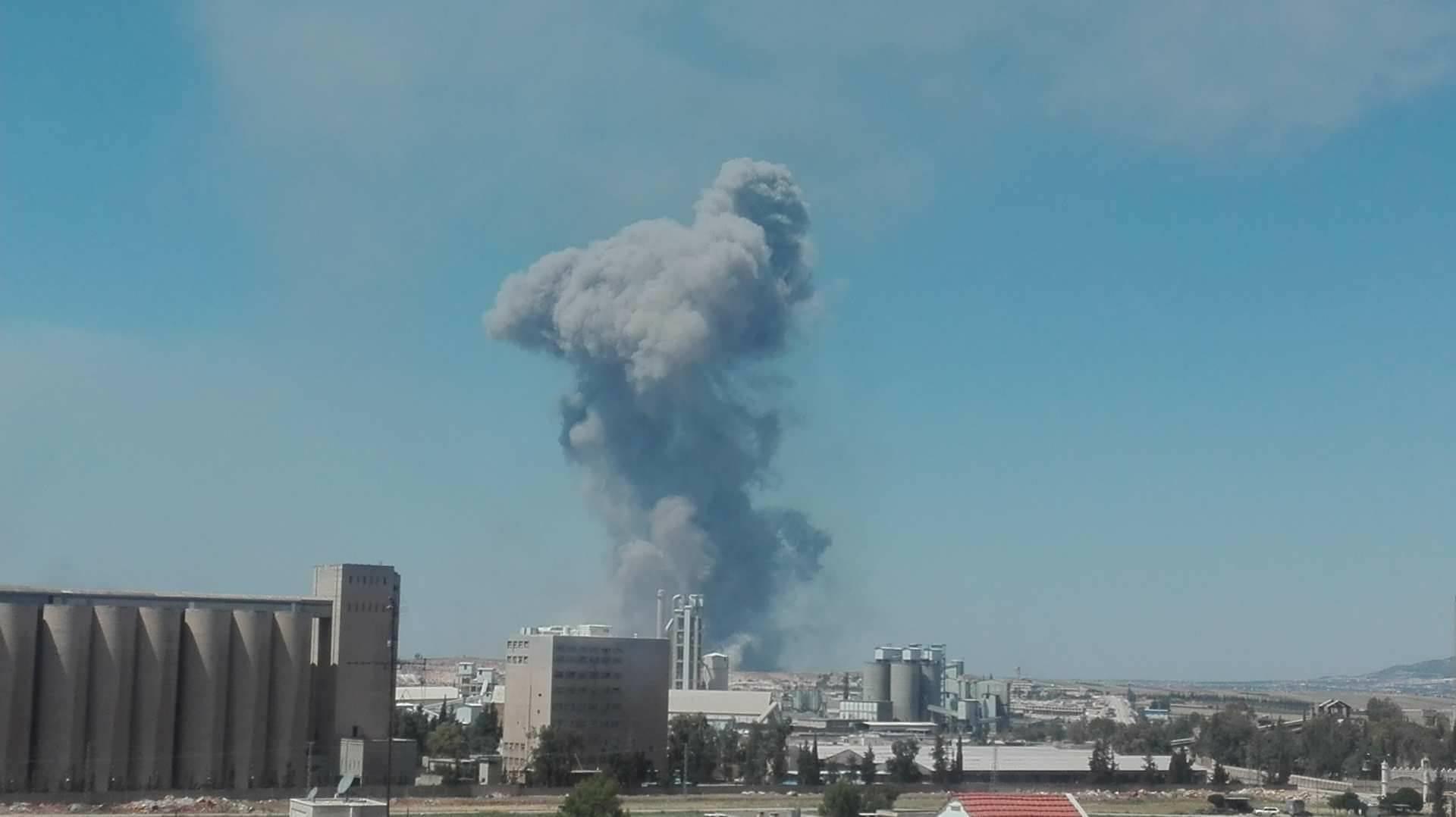 Hezbollah Media: No Iranians Were Killed In Hama Airbase Explosions