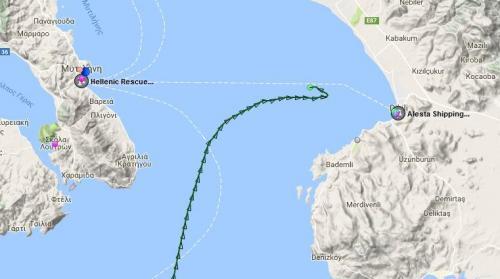 Turkish Cargo Vessel Rams Greek Warship In Aegean Sea
