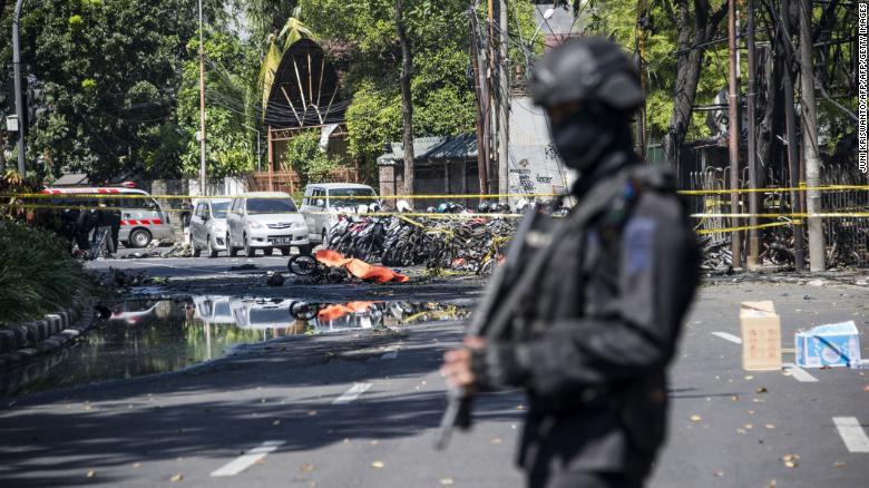 ISIS Claims Responsibility For Series Of Terrorist Attacks In Indonesia
