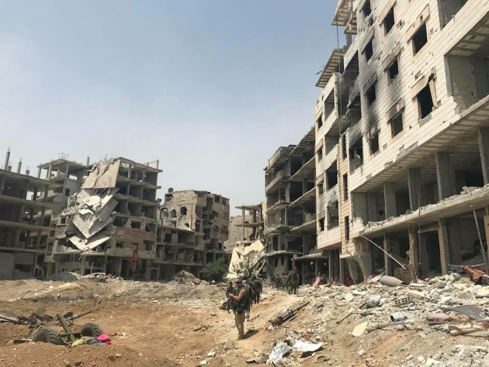 Overview Of Syrian Army's Operation In Southern Damascus On May 5, 2018 (Videos, Photos, Maps)
