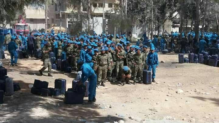 Turkey Deploys Free Syrian Police In Afrin