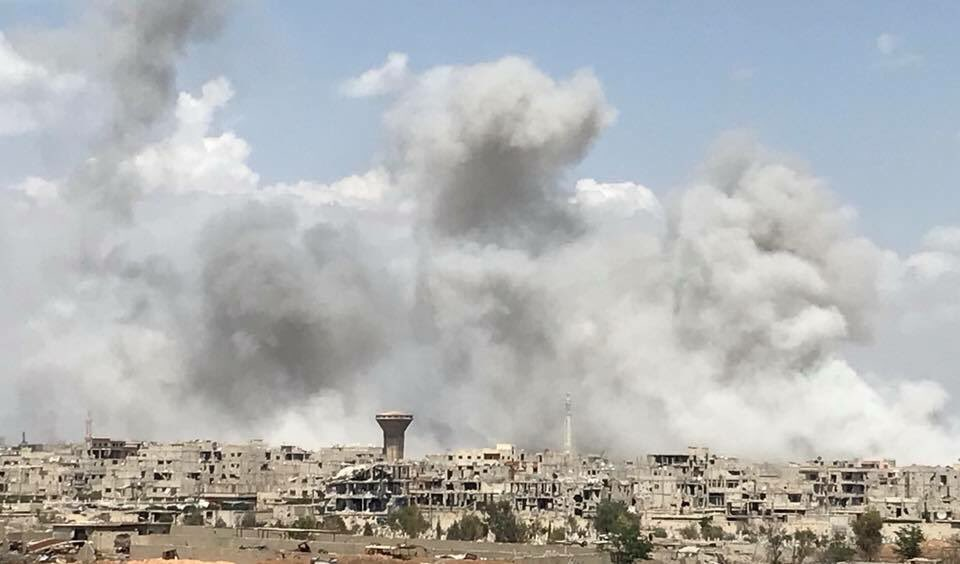 Overview Of Syrian Military's Operation In Southern Damascus On May 3, 2018 (Map, Photos, Videos)