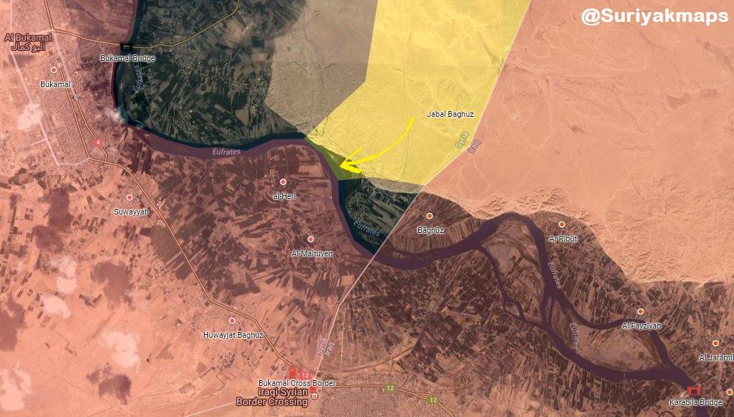 US-backed Forces Besiege Key Village On Syrian-Iraqi Border