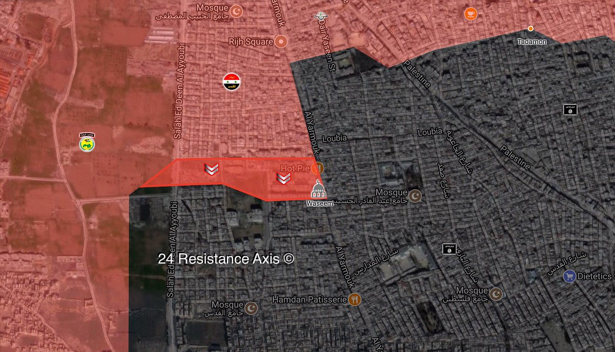 Syrian Army Regains More Areas From ISIS In Southern Damascus (Map, Videos)