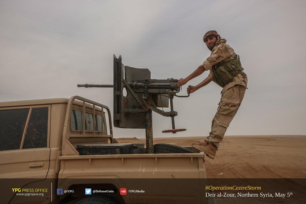 US-backed Forces Capture Train Station, Reach Baghuz Tahtani Village In Southeastern Deir Ezzor (Photos)