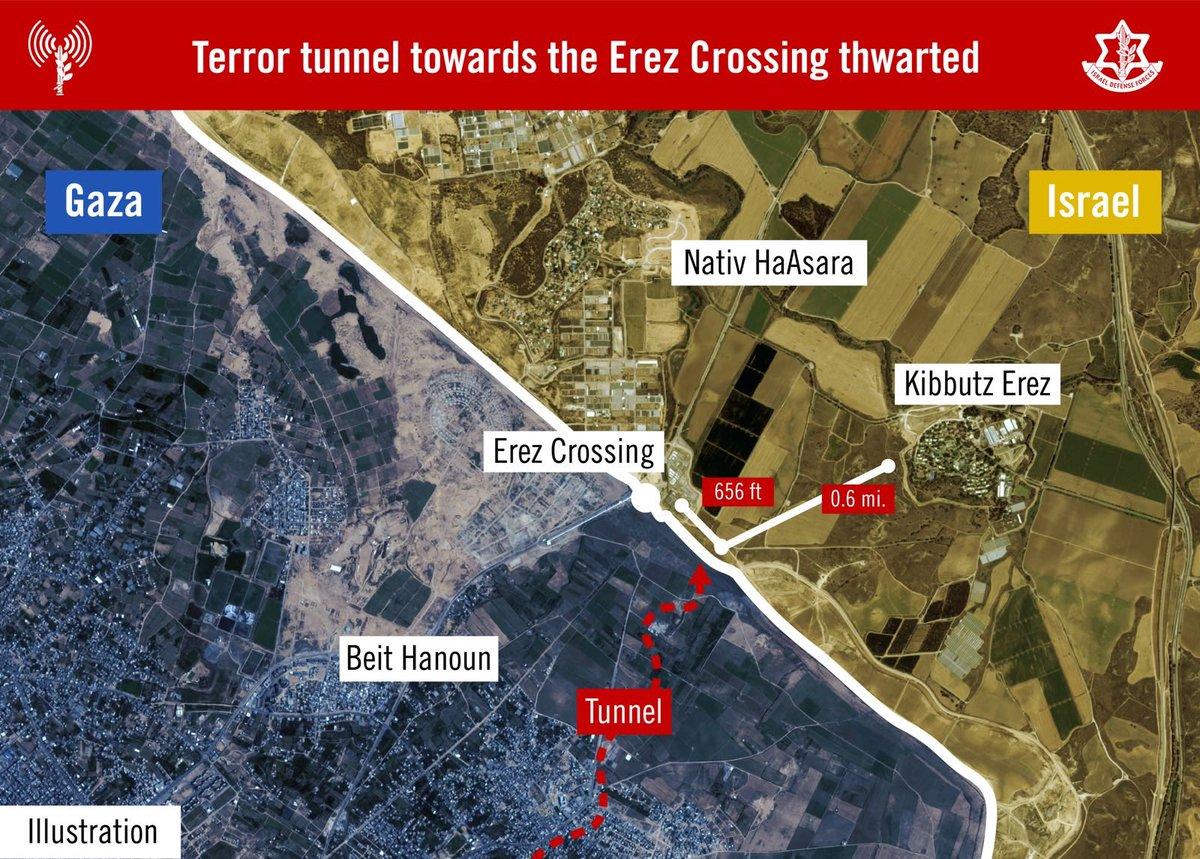 Israeli Army Destroys 5mil Long Tunnel In Northern Gaza (Video)