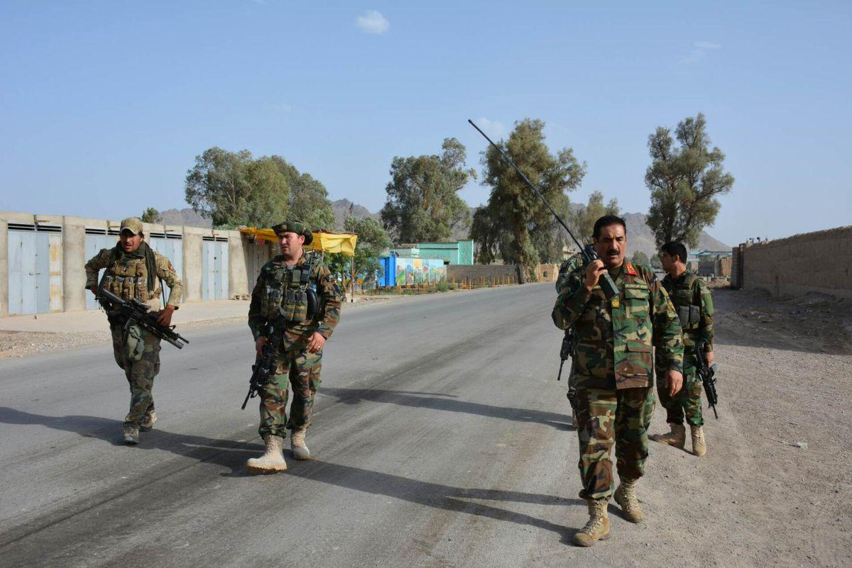 Afghan Army Repels Taliban Attack On Farah City (Video, Photos)
