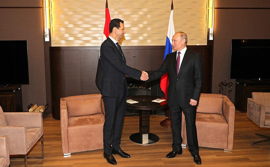 Syria's President Visits Russia, Holds Talks With Putin