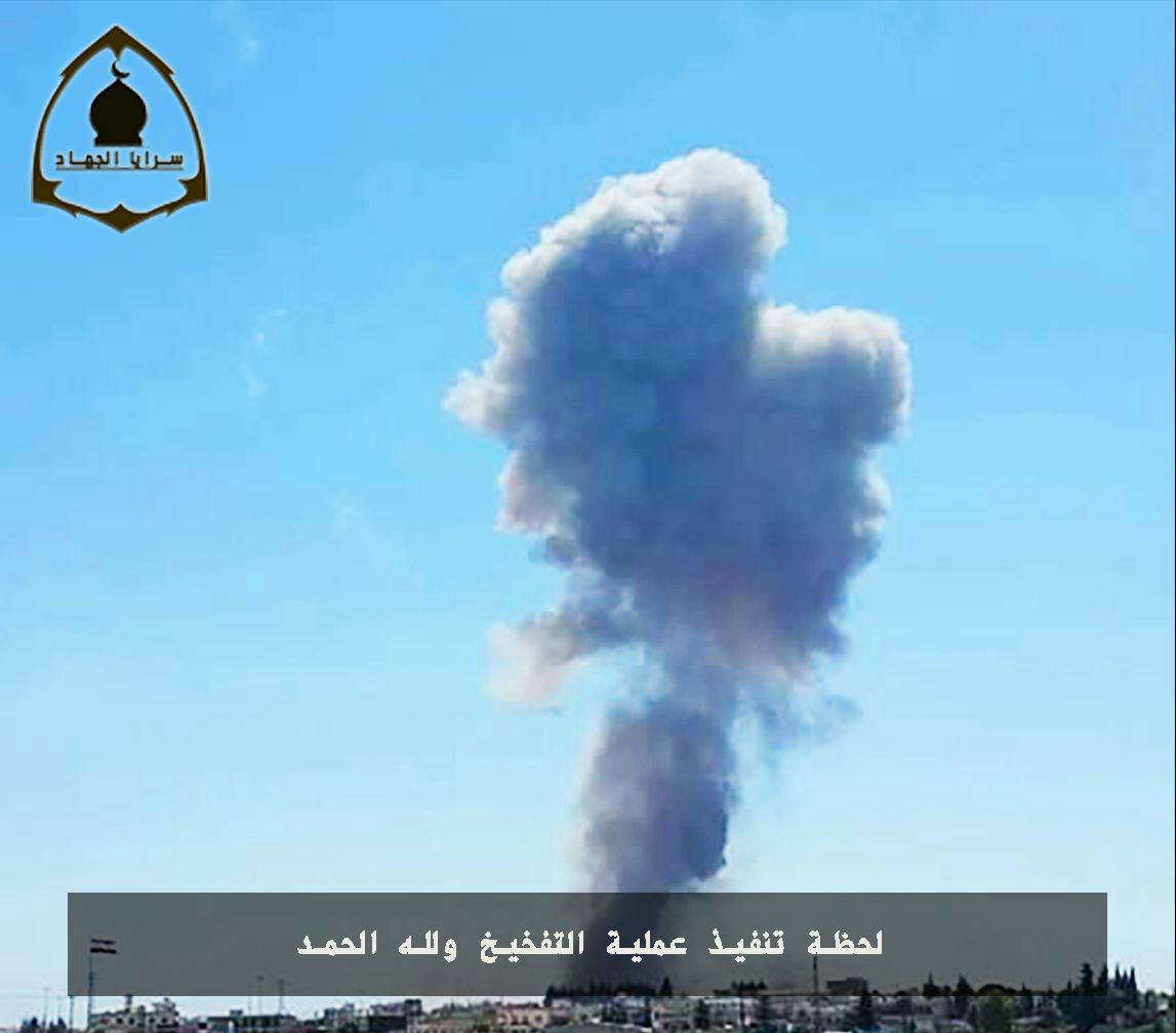 New Radical Group Claims Responsibility For Hama Airbase Explosions, Releases Photos