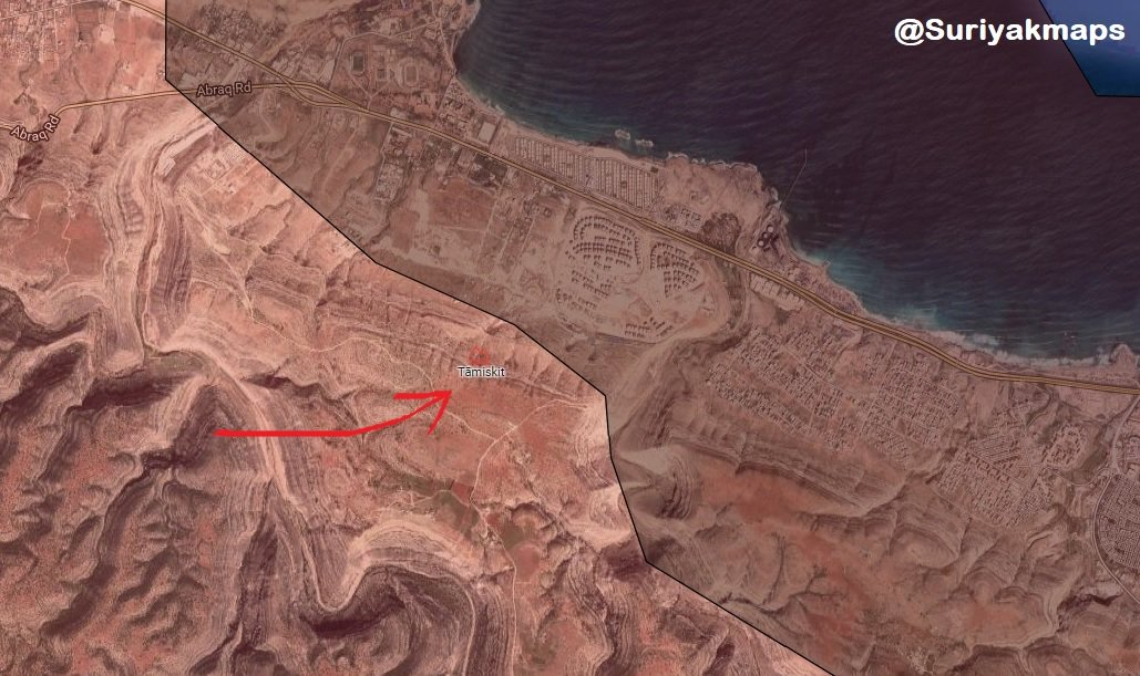 Libyan National Army Captures Key Area South Of Derna (Map)