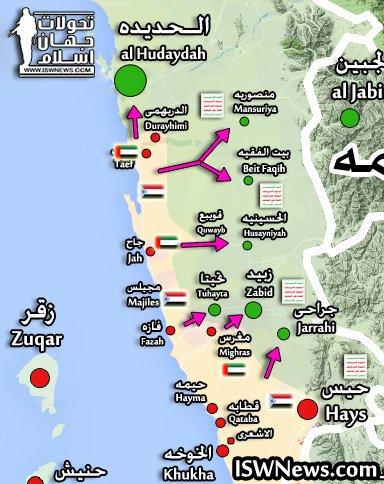 Saudi-led Coalition Captures Positions 15km South Of Al-Hudaydah Port (Map, Videos +18)