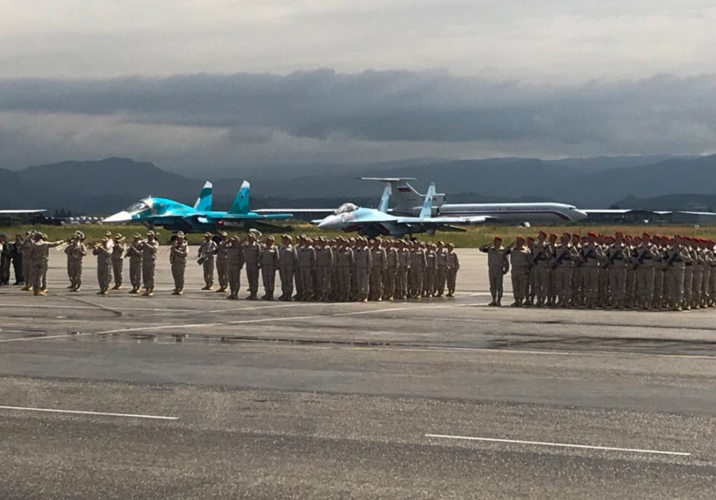 Photos, Video: Vicotry Day Military Parade At Russian Khmeimim Air Base In Syria