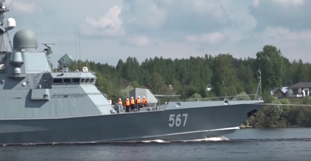 Video: New Russian Karakurt-class Missile Corvette Goes For Sailing Tests