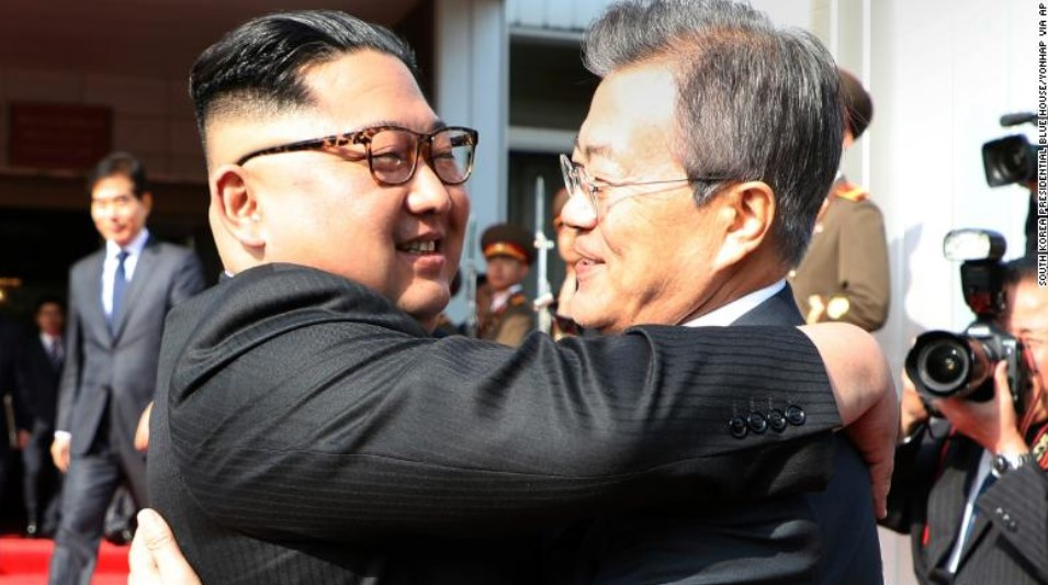 Leaders Of Northern, Southern Koreas Held Second Face To Face Meeting