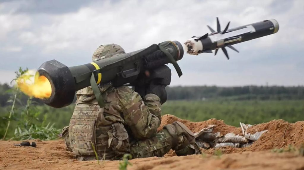 US Confirms Delivery Of Javelin Anti-Tank Missiles To Ukraine