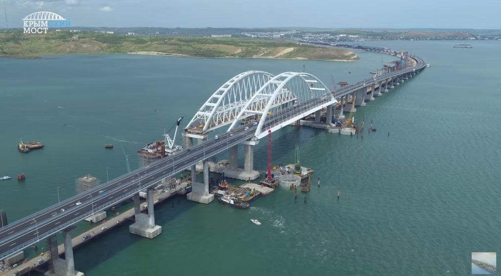 19km Bridge From Mainland Russia To Crimea Is Hours Away From Opening (Videos)