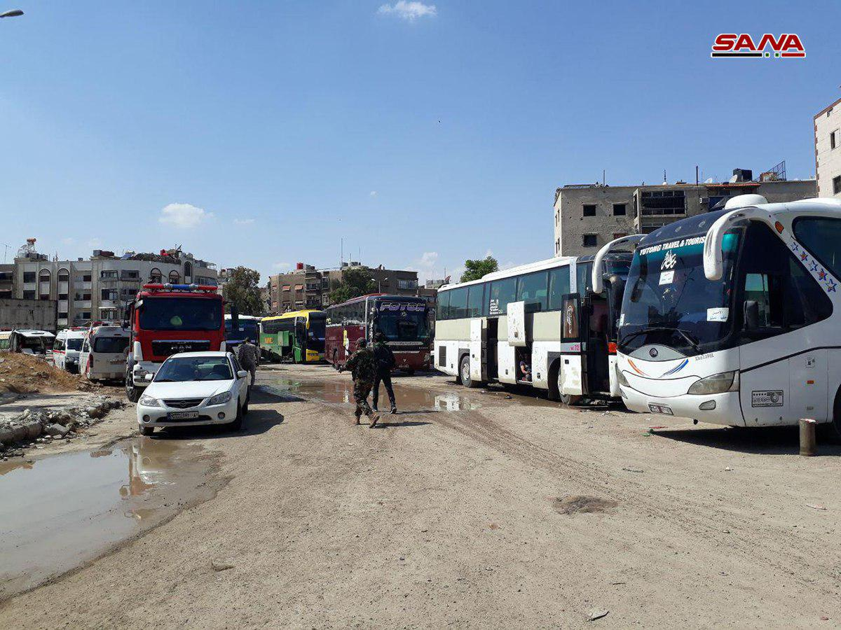 Remaining Hay'at Tahrir al-Sham Fighters In Southern Damascus Prepare To Withdraw