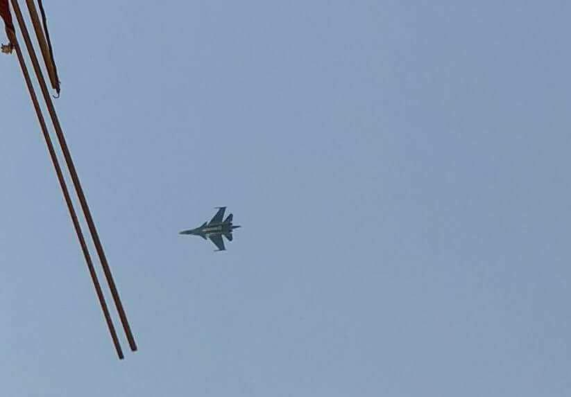 Russian Su-34 Fighter Bomber Spotted Over Northern Lebanon (Video)