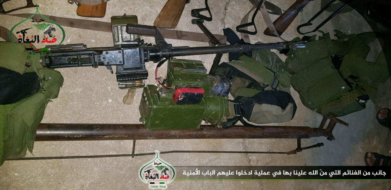 Free Syrian Army Attacks Several Positions Of ISIS In Daraa (Photos)