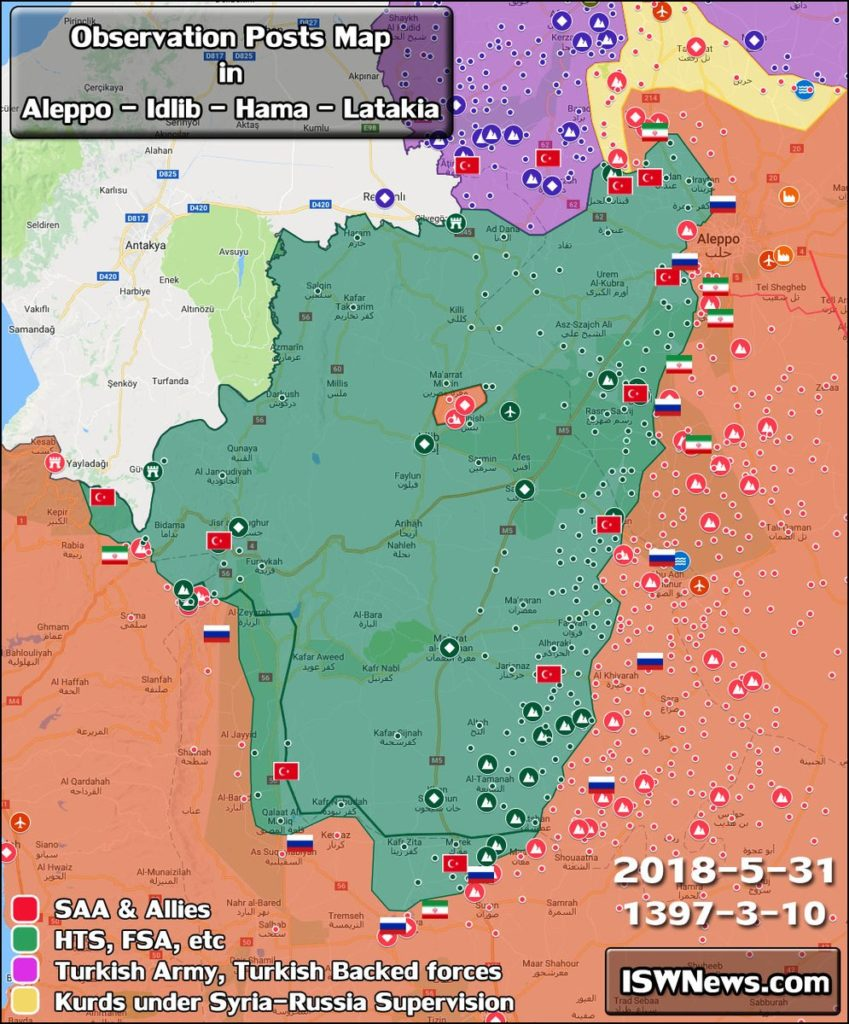 Russian Warplanes Reportedly Hit Targets In Idlib After Militants Attacked Government Troops In Northern Latakia