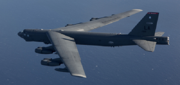 U.S. Nuclear Bombers Flyby Disputed Islands Amid Escalating Tensions With China