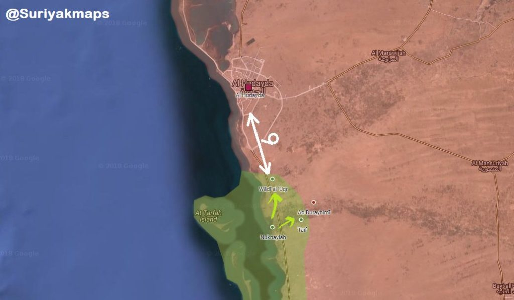 Saudi-led Coalition Launches Another Op To Capture Yemen's Hudaydah From Houthis