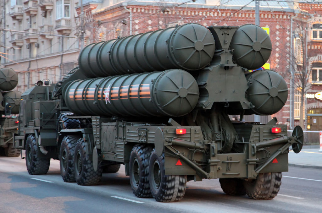 Erdogan Offers Russia To Jointly Produce Advanced S-500 Air Defense Systems