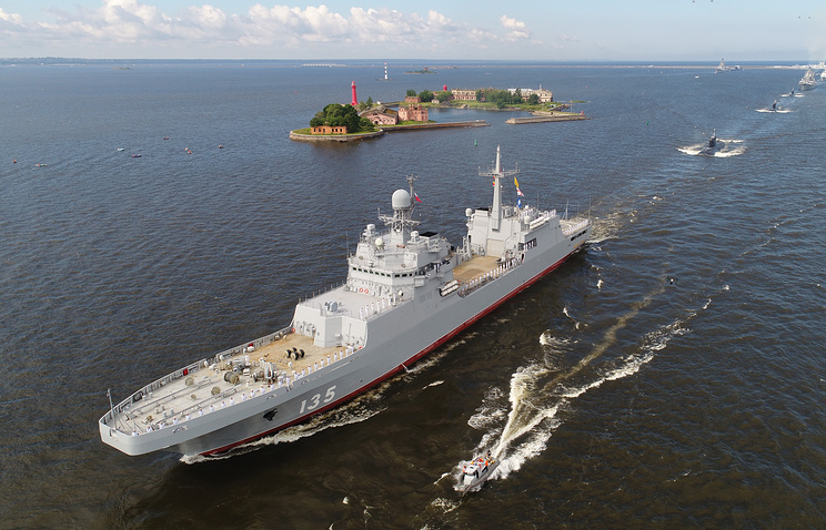 Large Amphibious Assault Ship Ivan Gren To Enter Service By End Of June