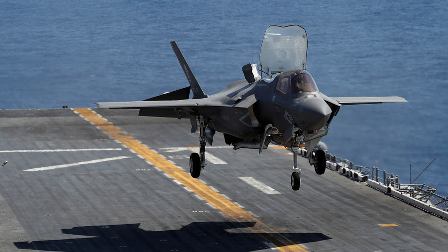 UK Citizen Arrested Over Plot To Sell F-35 Secrets To China