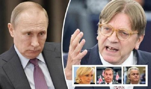 """EU Official Claims """"5th Columnists"""" Farage, Wilders, And Le Pen On Putin's Payroll"""