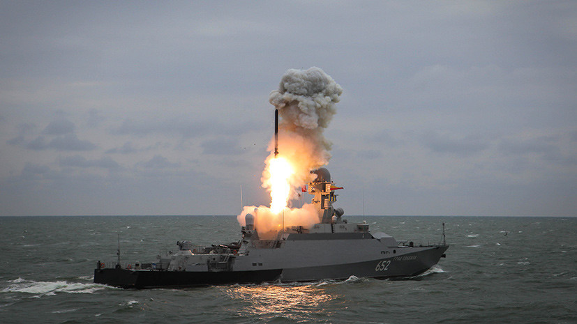Two Russian Corvettes Armed With Kalibr Missiles Enter Mediterranean
