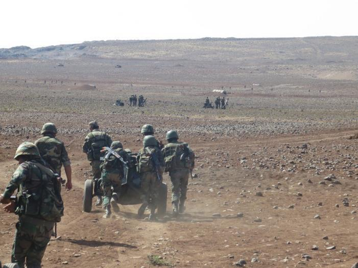Photos: Russian Military Advisers Train Syrian Troops Ahead Of Expected Military Operation In Daraa