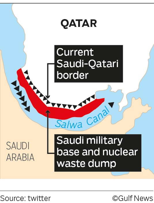 Saudi Arabia Is Going To Build Water Canal To Turn Qatar Into Island