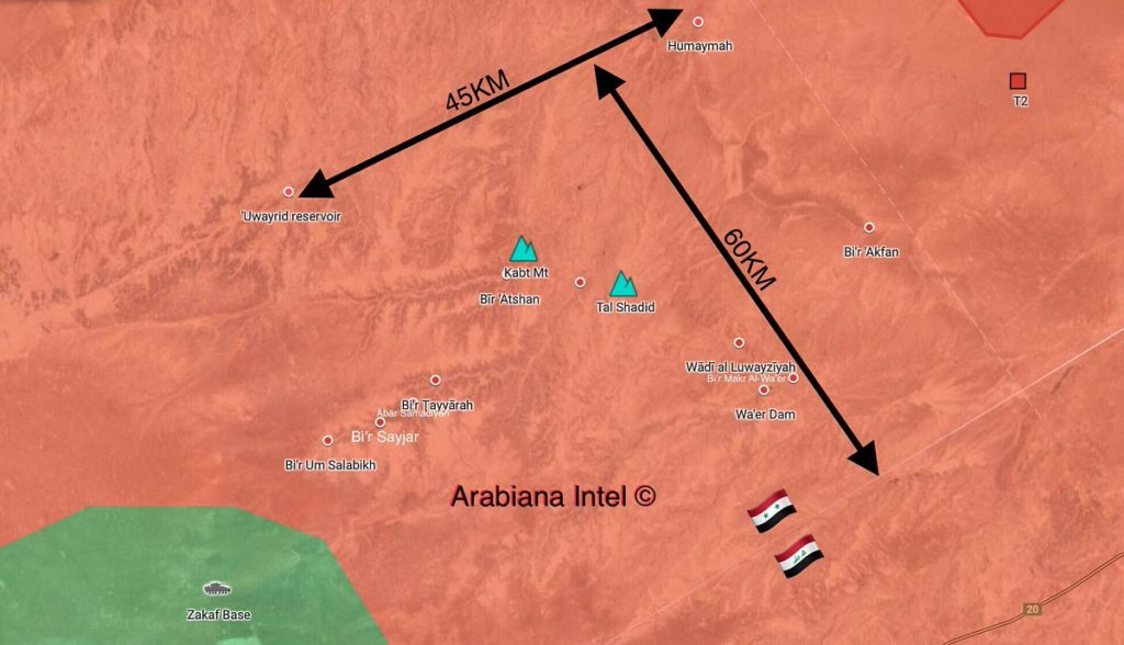 In Maps: Syrian Army's Operation Against ISIS Cells In Homs-Deir Ezzor Desert