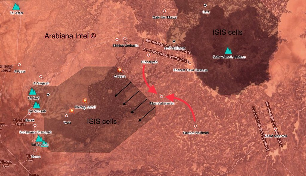 Map Update: Syrian Army's Progress In al-Suwayda, More Areas Secured