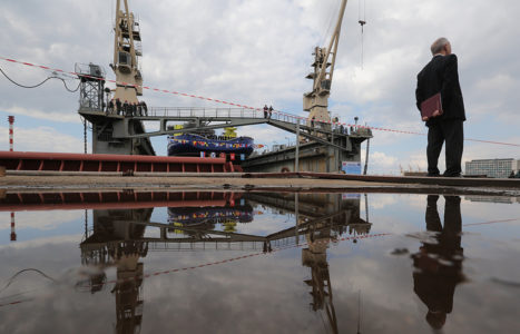Russia To Launch Construction Of Nuclear-Powered Guided Missile Destroyer: Navy